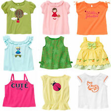 Gymboree Baby Girl Summer Tops 3 6 18 24 2T 3T 5T NWT