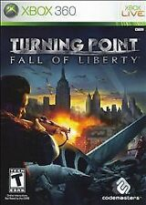 XBOX 360  Turning Point: Fall of Liberty Game~Complete with Case & Manual