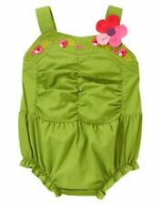 Gymboree Baby Girl 1 pc Romper 0 3 6 NWT Tropical,Daisy,Berry,Floral,Bubble