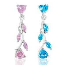 Hot Crystal Rhinestone Jewelry Dangle Belly Button Navel Piercing Ring 2 Colors
