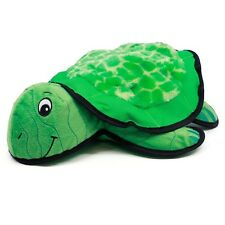 Kyjen RIPSHELL TURTLE Dog Toy TOUGH Removable Plush Flying Disc
