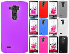 For LG G Flex 2 TPU CANDY Hard Gel Flexi Skin Case Phone Cover +Screen Protector