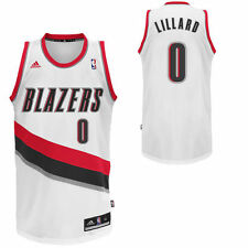 Damian Lillard Portland Trail Blazers adidas Youth Home Replica Jersey - White