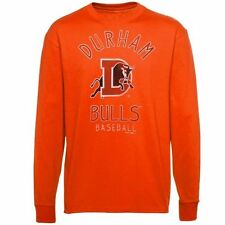 Durham Bulls Ring Him Up Long Sleeve T-Shirt - Orange - MiLB