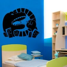 DINOSAUR wall sticker childrens bedroom vinyl decals boys dinosaurs stickers