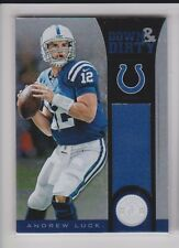 2012 Totally Certified #4 Andrew Luck Rookie #121/299 Down & Dirty Nrmt-mt