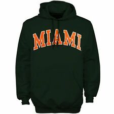 Miami Hurricanes Bold Arch Hoodie - Green - College