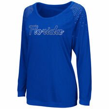 Florida Gators Women's Glitz Long Sleeve T-Shirt - Royal Blue - College