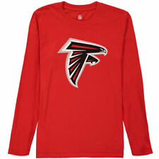Atlanta Falcons Youth Team Large Logo Long Sleeve T-Shirt - Red - NFL