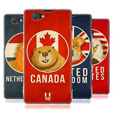 HEAD CASE PATRIOTIC ANIMALS SILICONE GEL CASE FOR SONY XPERIA Z1 COMPACT D5503