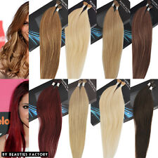 i-tip (Stick-Tip) Straight Remy Human Hair Extension 20 inch 8 Color to choose