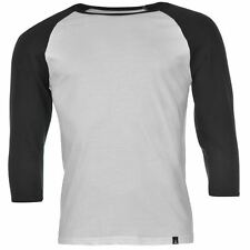 Jilted Generation Mens Gen Basic Raglan 3/4 Sleeve T Shirt Tee Top