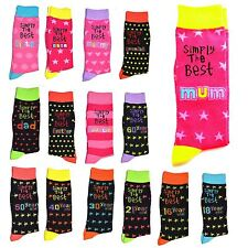 Simply The Best Socks Fathers Day Gifts Collection Age Relation & Family