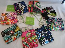 Vera Bradley In a Snap Card Case Credit card ID Key Ring Wallet Accessories New