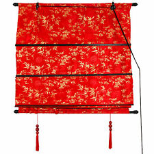 Shang Hai Tan Blinds - Red