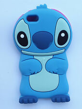 Cartoon 3D Stitch Cute Lovely Soft Silicone Cover Case For Mobile Phones