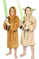 Star Wars Children Luxury Bath robe Yoda / Jedi S M L Clone Wars Coat new