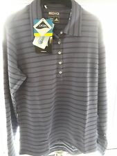 BNWT Womens Adidas Golf ClimaLite Mercerized Long Sleeved Golf Top UK XL rrp £35