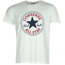 Mens Converse Chuck Taylor Crew T-Shirt In White From Get The Label
