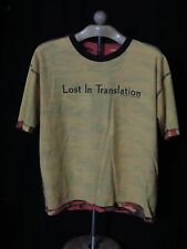 """2003 Camouflage """"Lost In Translation"""" Movie Promotion T-Shirt Focus Featuresl"""