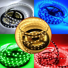5M 5050 SMD 300 Leds White Warm White Red Blue Green UV LED flexible Strip Light