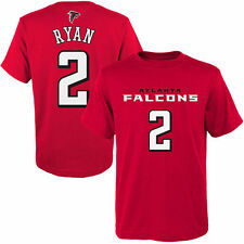 Matt Ryan Atlanta Falcons Youth Mainliner Name & Number T-Shirt - Red - NFL