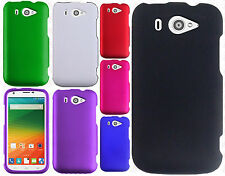 For Us Cellular ZTE Imperial 2 Rubberized HARD Protector Case Snap Phone Cover