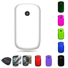 For LG 800G Cookie Style Premium Tough Hard Rubber Matte Cover Case
