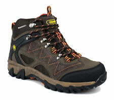 Cotswold Mens Malvern Mid Waterproof Lace Up Leather Walking Hiking Boot Brown