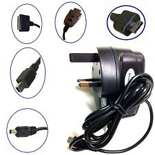 UK MAINS 3 PIN WALL PLUG AC HOME TRAVEL NEW CHARGER FOR MOBILE PHONE ACCESSORIES
