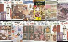 OOP Simplicity Sewing Pattern Kitchen and Dining Accessories Home Décor You Pick