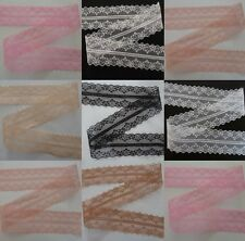 Wholesale 10-100yards embroidery lace ribbon colors can be selected 12Color