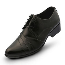 New Trend Maling Fashion Lined Mens Dress Formal Oxford Shoes Black