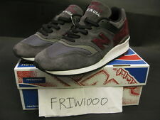 NEW BALANCE MADE IN THE USA M997CCF LEAD/BURGUNDY GUITAR COLLECTION