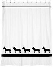 Australian Cattle  Dog Shower Curtain *Your Choice of Colors* -