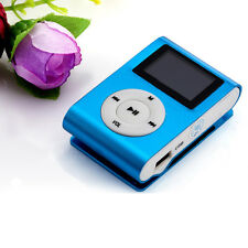 USB MP3 Music Player Clip Mini LCD Screen Support 32GB Micro SD TF Card Reader