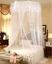 Jumbo Mosquito Net Bed Canopy For Girls Bed Presents Queen King Cal King Size