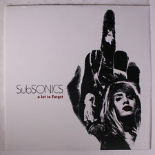 SUBSONICS: A Lot To Forget LP Sealed Rock & Pop