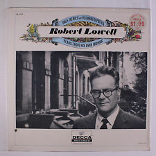 ROBERT LOWELL: Reads From His Own Works LP (2 drill holes) Spoken Word