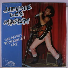 JIMMIE LEE MASLON: Salacious Rockabilly Cat LP Sealed Rockabilly