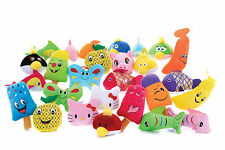 NEW PACKS OF 48 CHEAP SOFT TOYS PARTY BAG FILLERS CRANE TOYS £1 TOYS PARTY TOYS