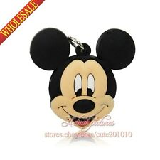 New 1PCS Mickey Minnie Pendants Charms for Keychains & necklace & Bracelets,Gift