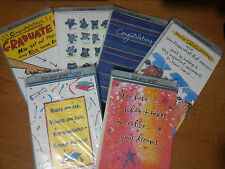 New Graduation Greeting Cards matching envelopes Grad daughter son college any