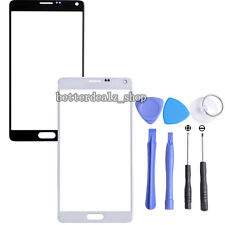 Replacement Front Outer Screen Glass Lens For Samsung Galaxy Note 4 N9100+ Tools