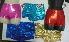 NWT FOIL Booty Shorts JAZZ DANCE Majorette $17 retail girls/ladies many colors