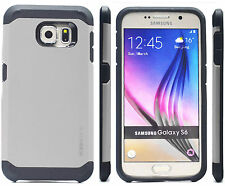 Hybrid rubber Rugged matte sillicone case Hard cover for Samsung Galaxy S6