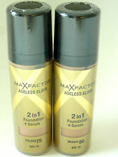 MAX FACTOR AGELESS ELIXIR 30ml Make up Foundation + Serum  2 in 1