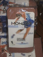 NEW Mondor Children Ice skate dance 3367 Suntan Footless TIGHTS 6-8 10-12 12-14