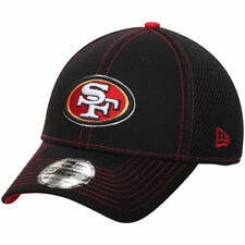 San Francisco 49ers New Era Crux Line Neo 39THIRTY Flex Hat - Black - NFL
