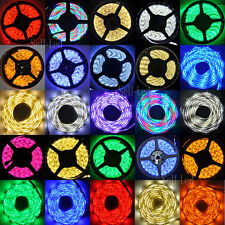 1M-5M 3528 5050 5630 SMD 300 LED White RGB Flexible Strip Light Waterproof DC12V